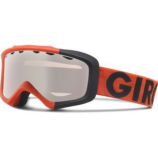 Giro Grade, glowing red color block/rose silver - Skibrille