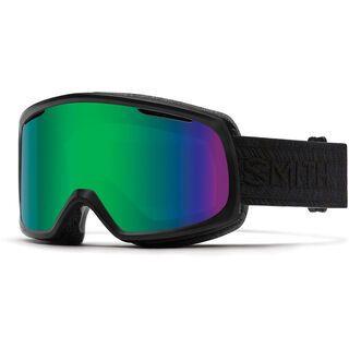 Smith Riot inkl. Wechselscheibe, black/Lens: green sol-x mirror - Skibrille