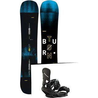 Set: Burton Instigator Wide 2019 + Burton Mission EST blackish
