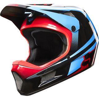 Fox Rampage Helmet Comp, imperial black/blue - Fahrradhelm