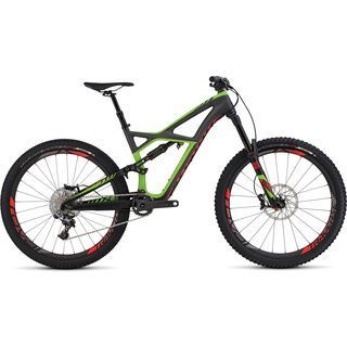 Specialized S-Works Enduro FSR 650b 2016, carbon/green/red - Mountainbike