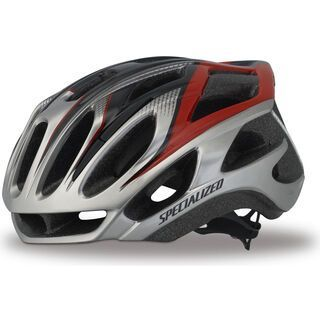 Specialized Propero II, Silver/Red - Fahrradhelm