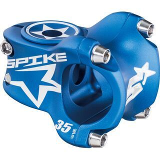 Spank Spike Race Stem, blue/shot peen - Vorbau