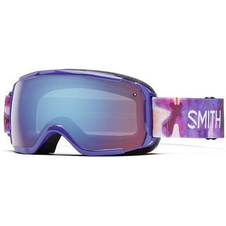 Smith Grom, violet inkblot/blue sensor mirror - Skibrille