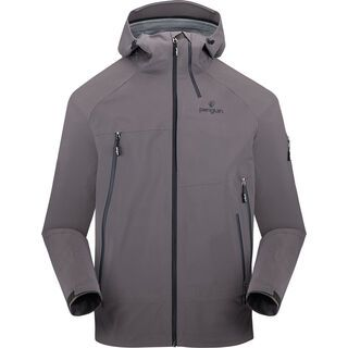 Penguin Männer 3 Lagen Dermizax Shell Jacke, good morning grey - Skijacke