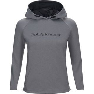 Peak Performance W Pulse Hood, grey melange - Hoody