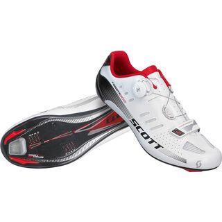 Scott Road Team Boa, white/black gloss - Radschuhe