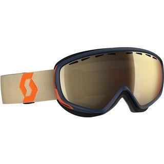 Scott Dana, blue orange/Lens: light sensitive bronze chrome - Skibrille