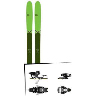 DPS Skis Set: Wailer 99 Pure3 Special Edition 2016 + Salomon STH2 WTR 13