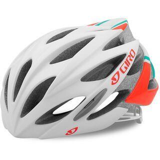 Giro Sonnet, white/turquoise/vermillion - Fahrradhelm