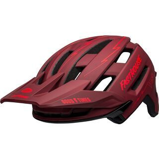 Bell Super Air Spherical MIPS, matte red/black fasthouse - Fahrradhelm