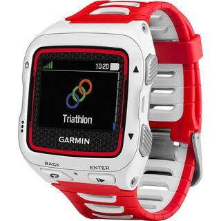 Garmin Forerunner 920XT (mit Brustgurt), weiß/rot - Triathlonuhr