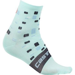 Castelli Climber's W Sock, aruba blue - Radsocken