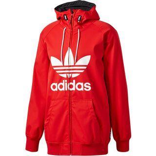 Adidas Greeley Softshell Jacket, scarlet/white - Softshelljacke