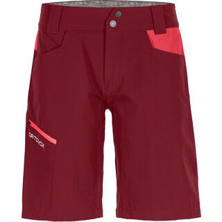 Ortovox Merino Shield Zero Pelmo Shorts W, dark blood