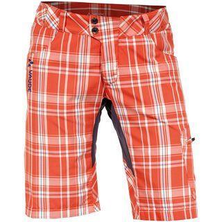 Vaude Women's Craggy Pants, glowing red - Radhose