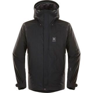 Haglöfs Niva Insulated Jacket Men, true black - Skijacke
