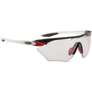 Alpina Twist Four Shield VL+, black red white/Lens: varioflex+ black - Sportbrille