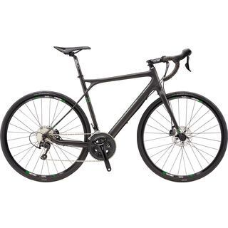 GT Grade Carbon 105 2016, raw/green - Gravelbike