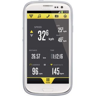 Topeak RideCase Samsung Galaxy S3 mit Halter, white - Schutzhülle