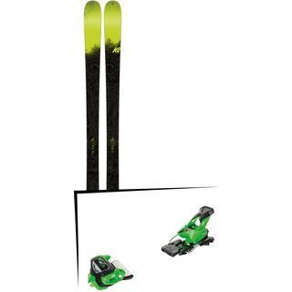 Set: K2 SKI Sight 2018 + Tyrolia Attack² 13 GW green