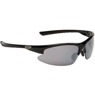 Alpina Dribs 2.0, black/Lens: ceramic mirror black - Sportbrille