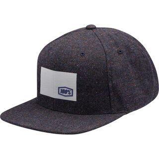 100% Noble Snapback Hat, navy - Cap