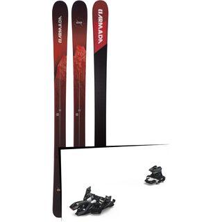 Set: Armada Invictus 95 2019 + Marker Alpinist 12 black/titanium