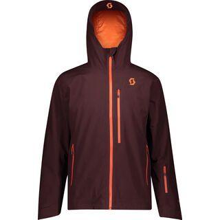 Scott Ultimate GTX Men's Jacket red fudge