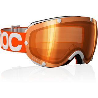 POC Lobes, Orange/Light Orange/Silver mirror - Skibrille
