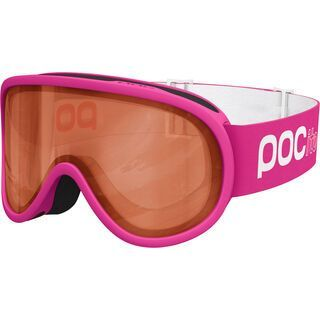 POC POCito Retina, fluorescent pink/Lens: orange - Skibrille