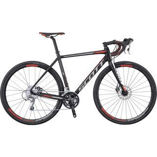 Scott Speedster CX 20 Disc 2017, black/white/red - Crossrad
