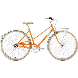 Creme Cycles Caferacer Lady Uno 2020, sunny orange - Cityrad