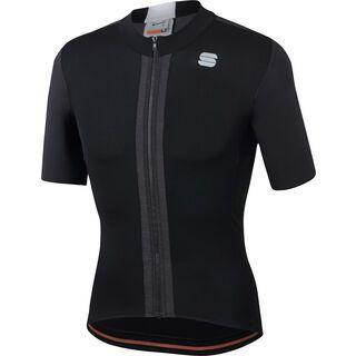 Sportful Strike Short Sleeve Jersey, black/white - Radtrikot