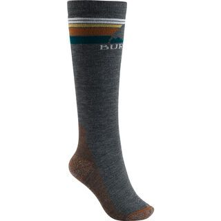 Burton Women's Emblem Midweight Sock, true black - Socken