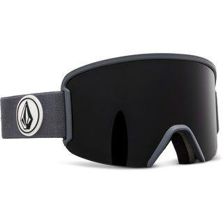 Volcom Garden, gray/Lens: dark gray - Skibrille