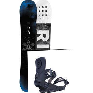 Set: Ride Berzerker 2017 + Ride LTD 2017, black - Snowboardset