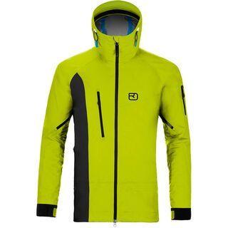 Ortovox 3L Merino Jacket La Grave, happy green - Skijacke