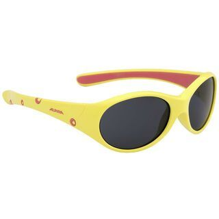 Alpina Flexxy Girl, yellow rose/Lens: ceramic mirror black - Sportbrille