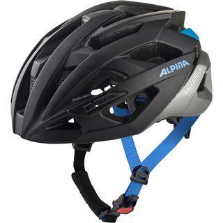 Alpina Valparola, black-silver-blue - Fahrradhelm