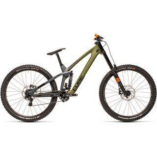 Cube TWO15 HPC SL 29 2021, olive´n´grey - Mountainbike