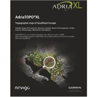 Garmin Topo Adria XL - Karte