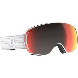 Scott LCG Compact Goggle inkl. WS, white/Lens: solar red chrome - Skibrille