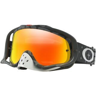 Oakley Crowbar MX Troy Lee Designs Series, Lens: fire iridium - MX Brille