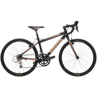 Kona Jake 24 2014, matt black/orange/white - Kinderfahrrad