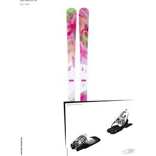 Völkl Set: Yumi 2014 + Marker 10.0 FREE