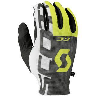 Scott RC Pro LF Glove, black/yellow - Fahrradhandschuhe