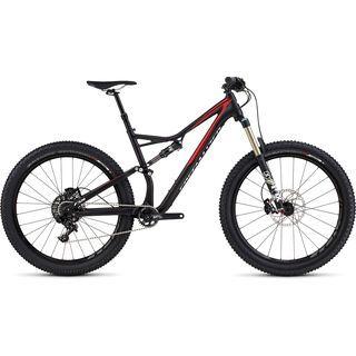 Specialized Stumpjumper FSR Comp 6Fattie 2016, black/red/white - Mountainbike