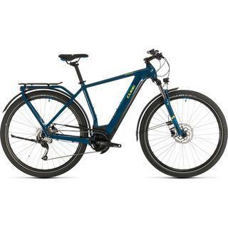 Cube Kathmandu Hybrid ONE 625 2020, blue´n´yellow - E-Bike
