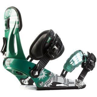 Ride Phenom 2012, Green - Snowboardbindung